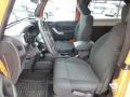 Black Front Seat Photo for 2012 Jeep Wrangler #76854630