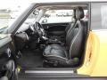Lounge Carbon Black Leather Interior Photo for 2009 Mini Cooper #76872678
