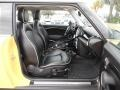 Lounge Carbon Black Leather Interior Photo for 2009 Mini Cooper #76872687