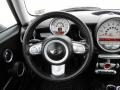 Lounge Carbon Black Leather Steering Wheel Photo for 2009 Mini Cooper #76872699