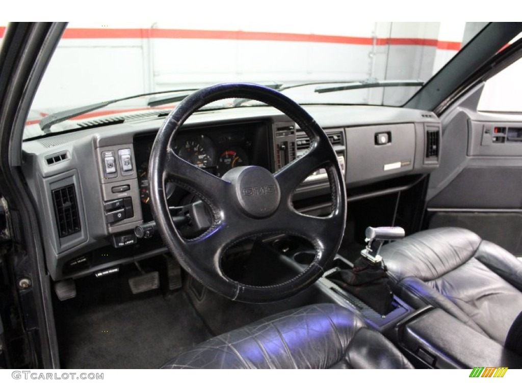 Black Interior 1993 Gmc Jimmy Typhoon Photo 76877202 Gtcarlot Com