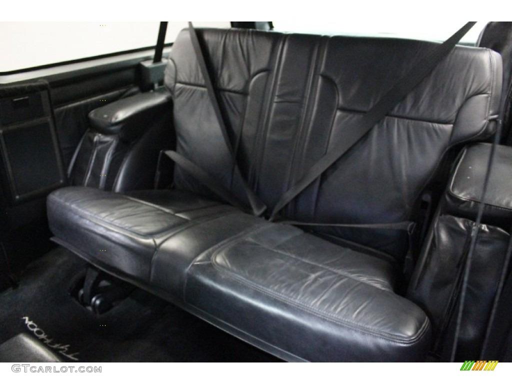 Black interior 1993 gmc jimmy typhoon photo 76877310