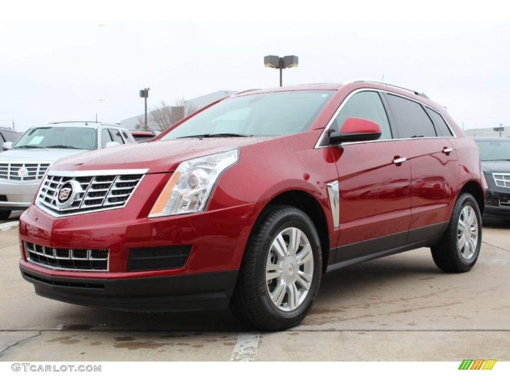 2013 Crystal Red Tintcoat Cadillac Srx Luxury Fwd 76873932 Car Color Galleries