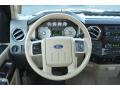 2008 Ford F250 Super Duty Camel Interior Steering Wheel Photo