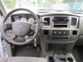 2008 Dodge Ram 1500 Khaki Interior Dashboard Photo