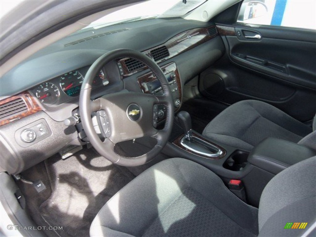 Ebony Interior 2013 Chevrolet Impala Lt Photo 76885635