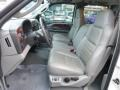 2007 Ford F250 Super Duty Medium Flint Interior Front Seat Photo