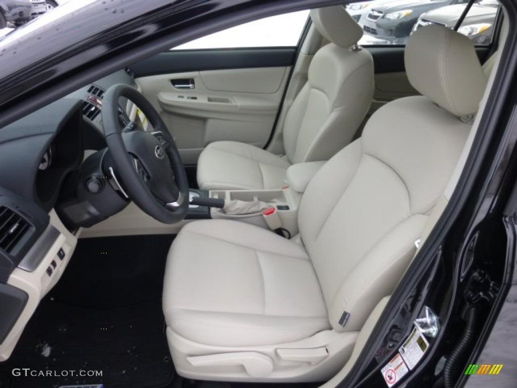 Ivory Interior 2013 Subaru Impreza Sport Limited 5 Door Photo 76893897