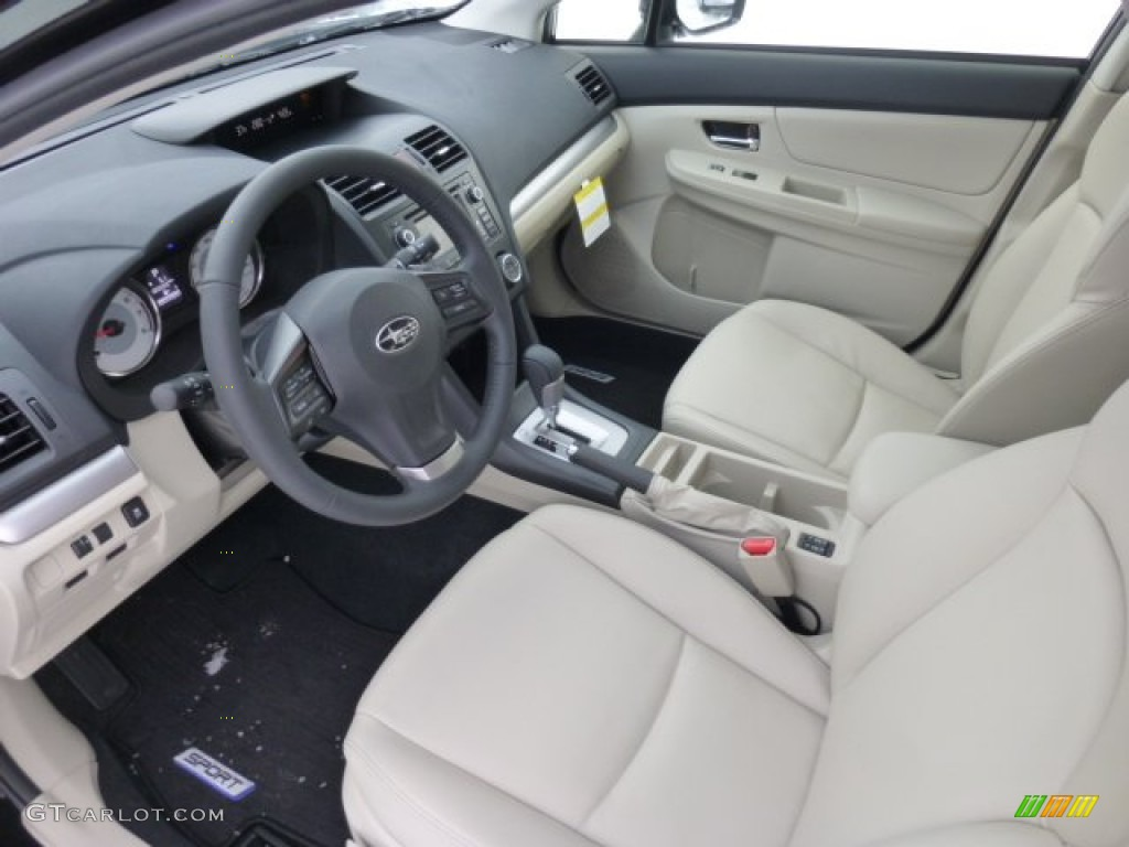 Ivory Interior 2013 Subaru Impreza Sport Limited 5 Door Photo 76893916