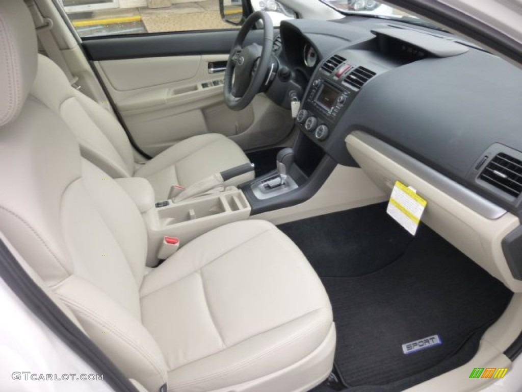 Ivory Interior 2013 Subaru Impreza Sport Limited 5 Door Photo 76894523