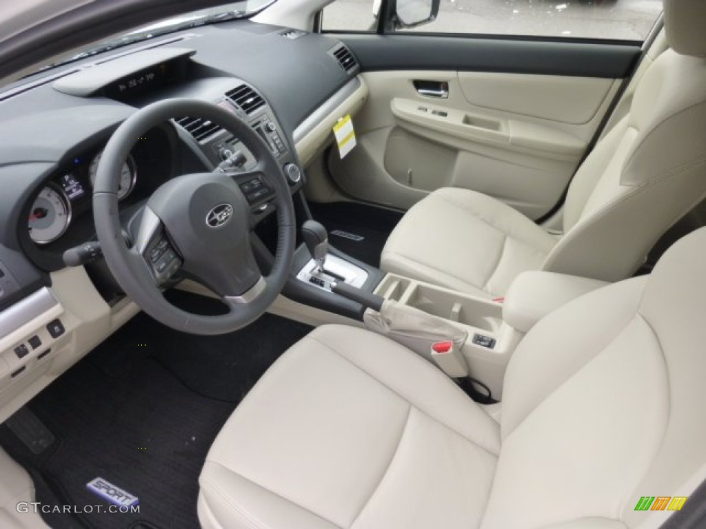 Amazing Ivory Interior 2013 Subaru Impreza 2.0i Sport Limited 5 Door Photo #76894627