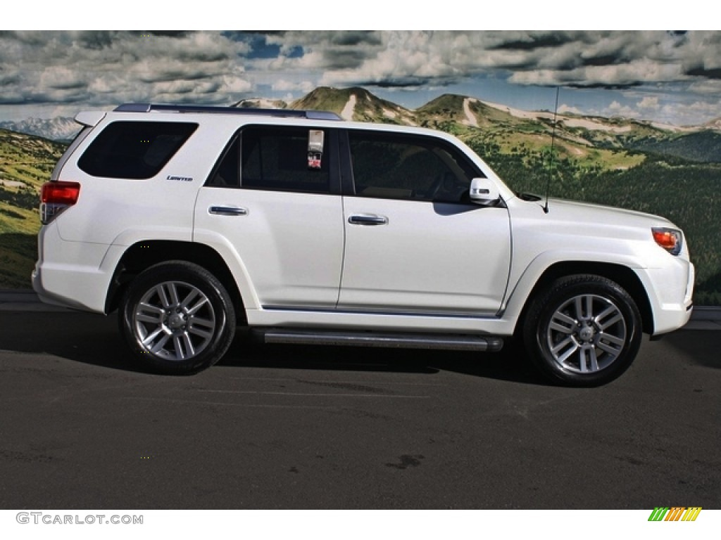 Blizzard White Pearl 2012 Toyota 4runner Limited 4x4