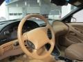 1998 Ford Mustang Saddle Interior Steering Wheel Photo