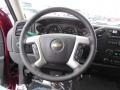 2013 Deep Ruby Metallic Chevrolet Silverado 1500 LT Extended Cab 4x4  photo #18