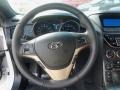 Red Leather/Red Cloth Steering Wheel Photo for 2013 Hyundai Genesis Coupe #76901753