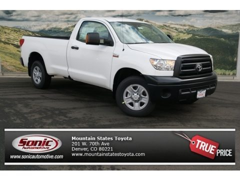2013 Toyota Tundra Regular Cab 4x4 Data, Info and Specs