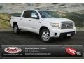 2013 Super White Toyota Tundra Limited CrewMax 4x4  photo #1