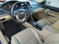 Ivory 2008 Honda Accord EX-L Coupe Interior