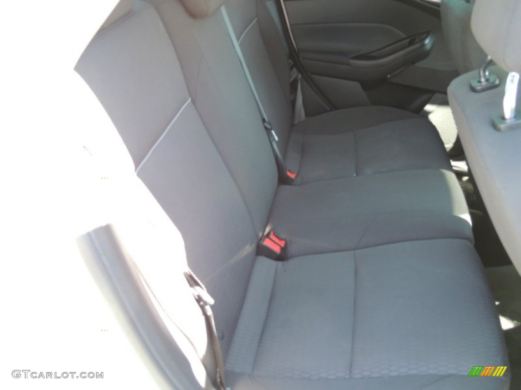 2012 Focus SEL Sedan - White Platinum Tricoat Metallic / Charcoal Black photo #10