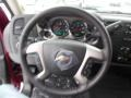 2013 Deep Ruby Metallic Chevrolet Silverado 1500 LT Extended Cab 4x4  photo #18