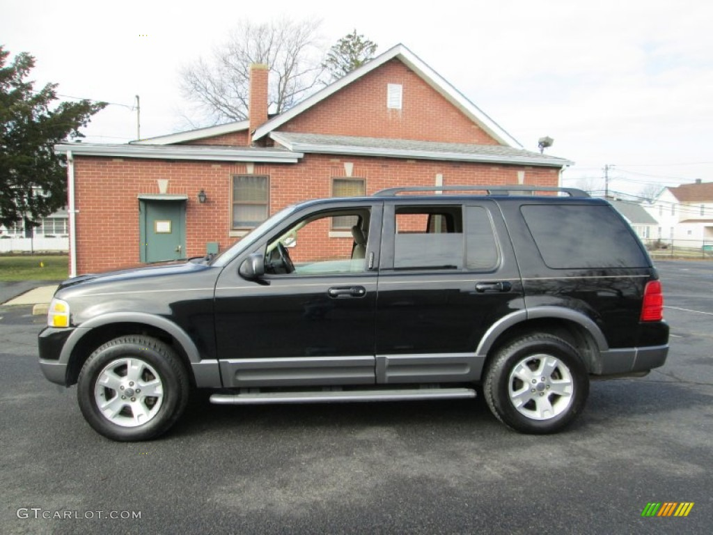 black 2003 ford explorer xlt awd exterior photo 76911768. Cars Review. Best American Auto & Cars Review