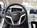 Jet Black/Ceramic White Accents Steering Wheel Photo for 2013 Chevrolet Volt #76913044
