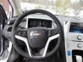 Jet Black/Ceramic White Accents Steering Wheel Photo for 2013 Chevrolet Volt #76913945