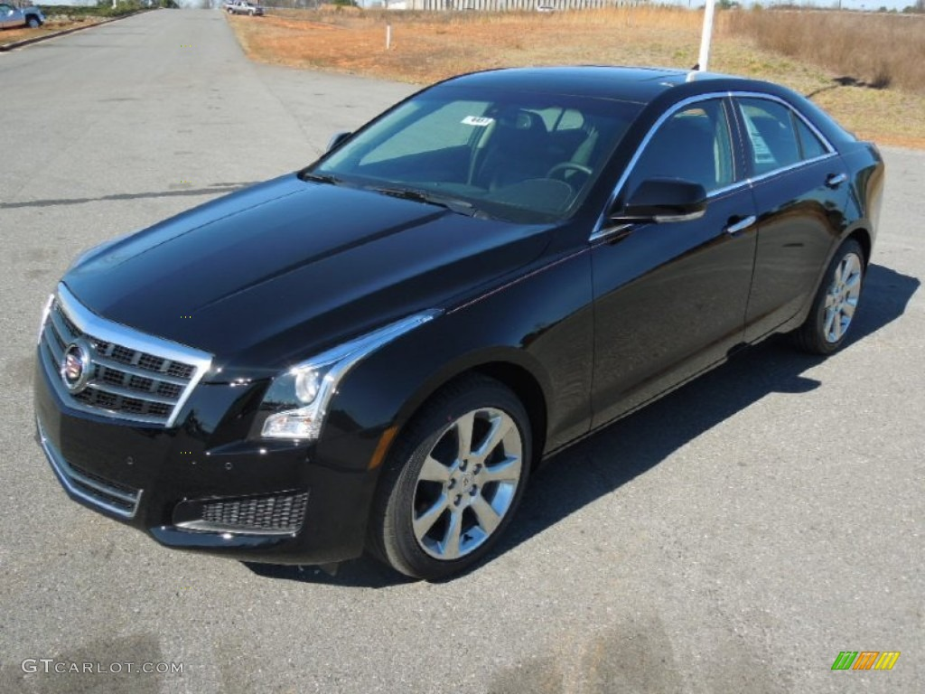 black raven 2013 cadillac ats 3 6l luxury exterior photo 76914351. Black Bedroom Furniture Sets. Home Design Ideas