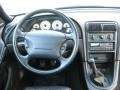 1998 Ford Mustang Black Interior Dashboard Photo
