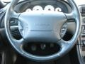 1998 Ford Mustang Black Interior Steering Wheel Photo