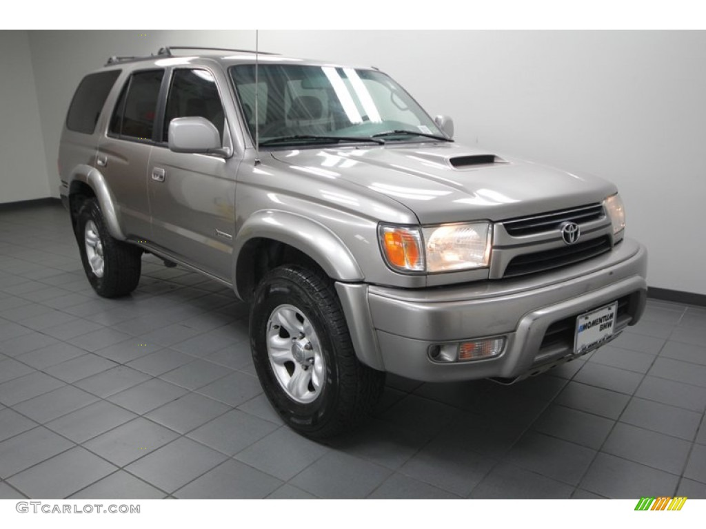 Thunder Cloud Metallic 2002 Toyota 4runner Sr5 4x4