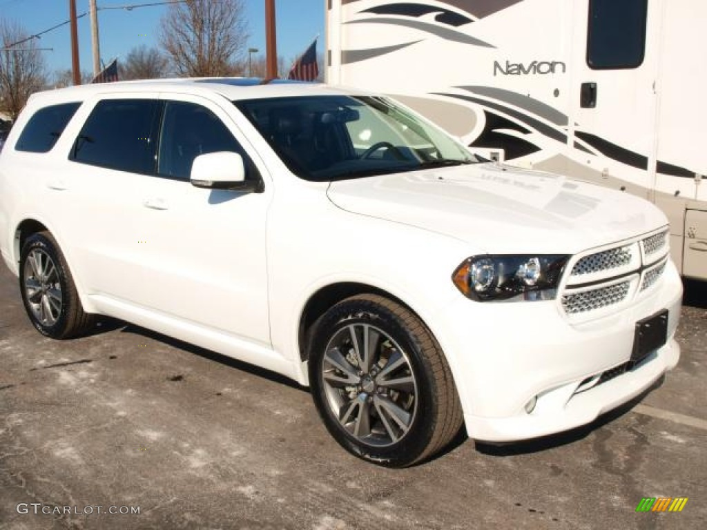 bright white 2013 dodge durango r t awd exterior photo 76938229. Black Bedroom Furniture Sets. Home Design Ideas