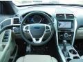 Medium Light Stone Dashboard Photo for 2013 Ford Explorer #76943305