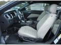 2013 Ford Mustang Stone Interior Front Seat Photo