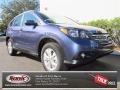 2013 Twilight Blue Metallic Honda CR-V EX-L  photo #1