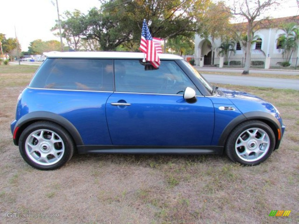 Hyper Blue Metallic 2006 Mini Cooper S Hardtop Exterior Photo #76950865 | GTCarLot.com