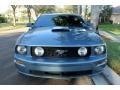 2007 Windveil Blue Metallic Ford Mustang GT Premium Coupe  photo #14