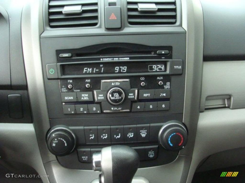2010 CR-V EX AWD - Alabaster Silver Metallic / Gray photo #12