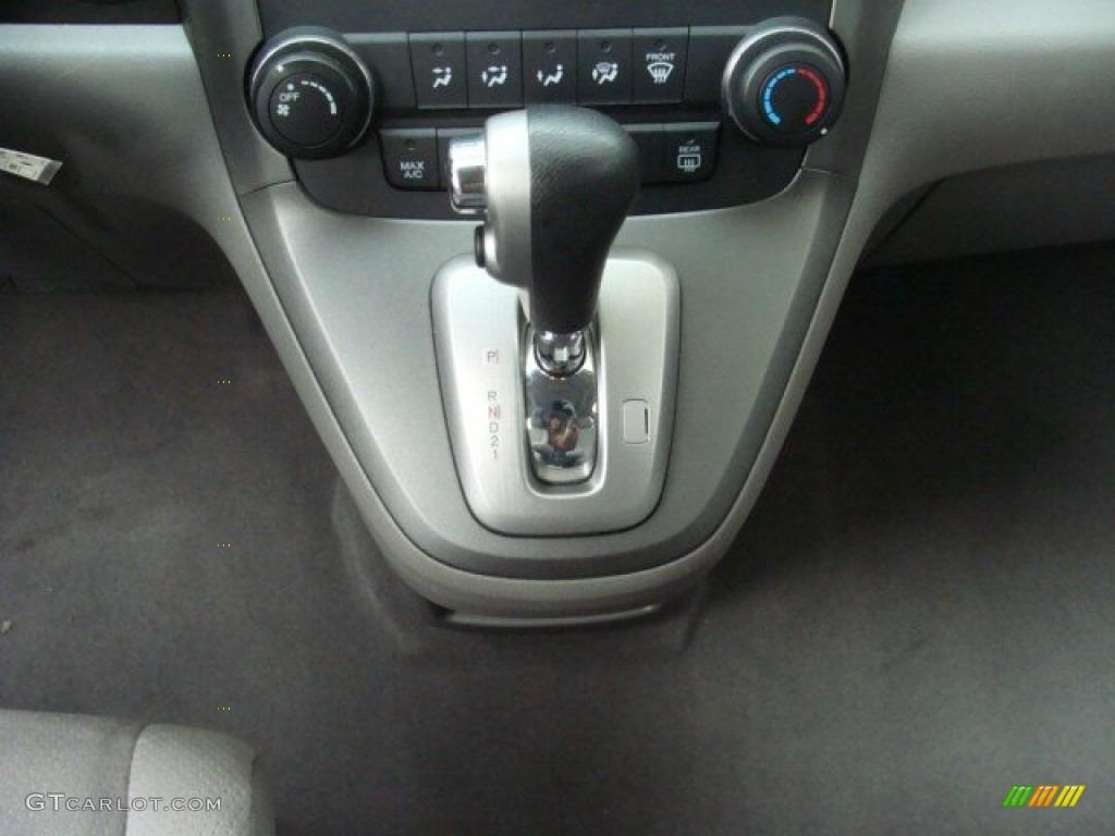 2010 CR-V EX AWD - Alabaster Silver Metallic / Gray photo #13