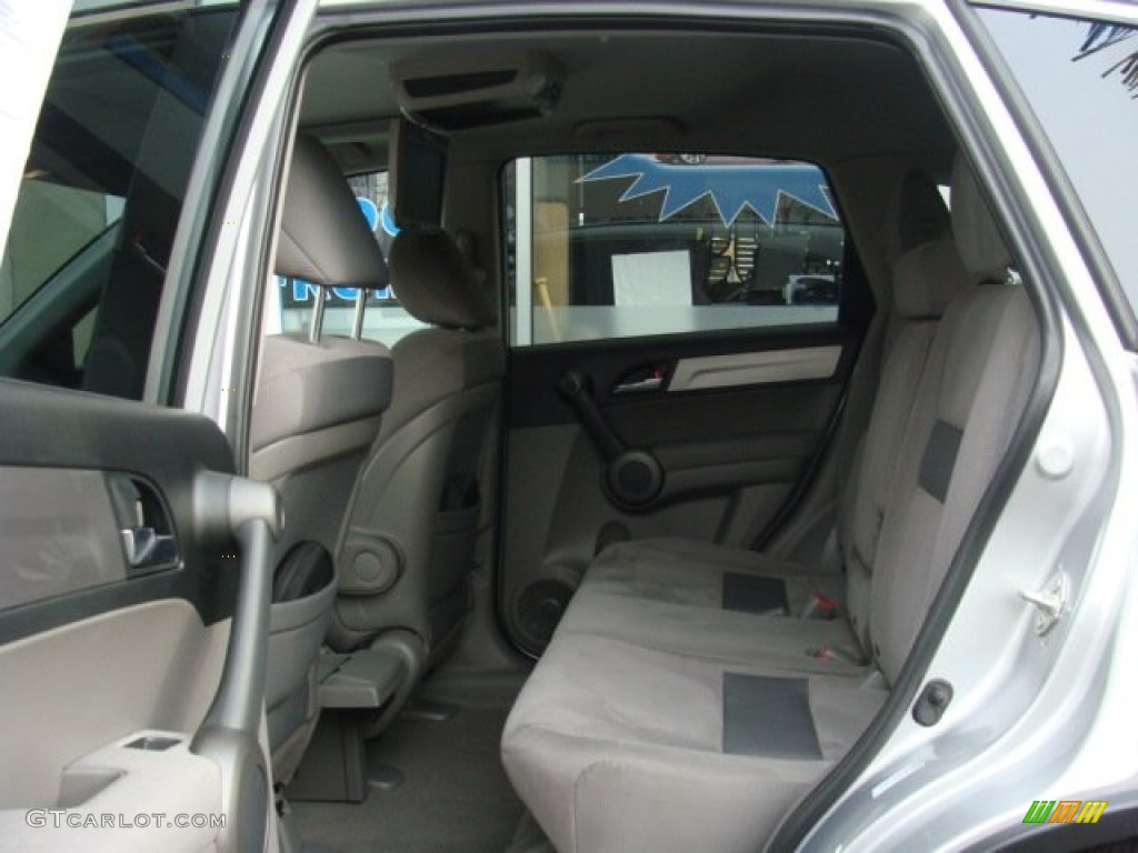 2010 CR-V EX AWD - Alabaster Silver Metallic / Gray photo #14