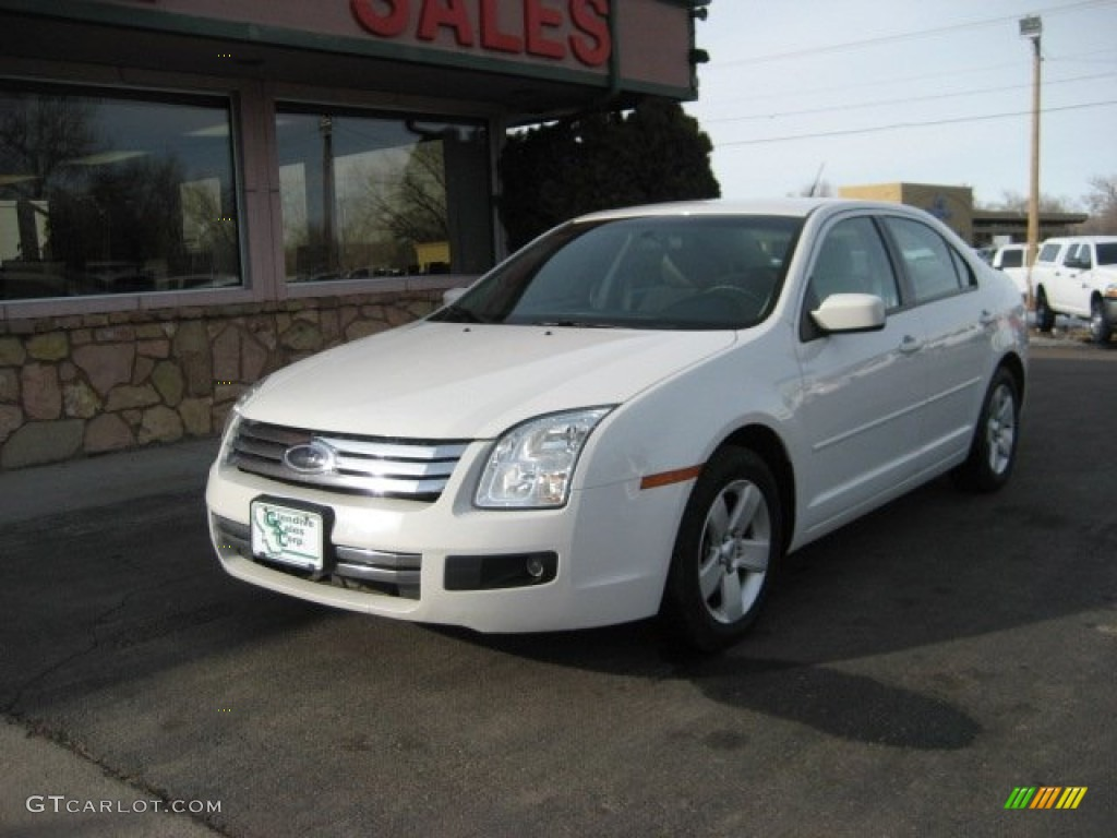 white suede 2008 ford fusion se v6 exterior photo 76958871. Black Bedroom Furniture Sets. Home Design Ideas