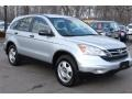 2010 Alabaster Silver Metallic Honda CR-V LX AWD  photo #3