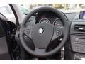 2010 BMW X3 Saddle Brown Interior Steering Wheel Photo