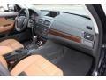 2010 BMW X3 Saddle Brown Interior Dashboard Photo