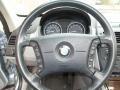 2006 BMW X3 Grey Interior Steering Wheel Photo