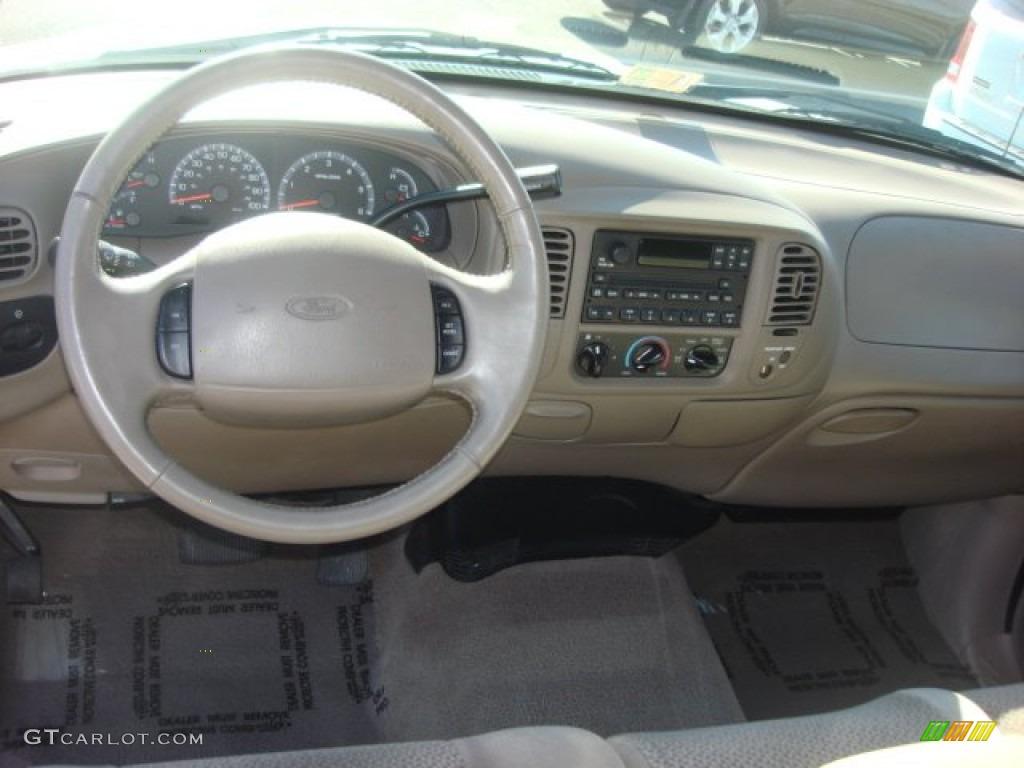 2002 Ford F150 XLT SuperCab Medium Parchment Dashboard ...
