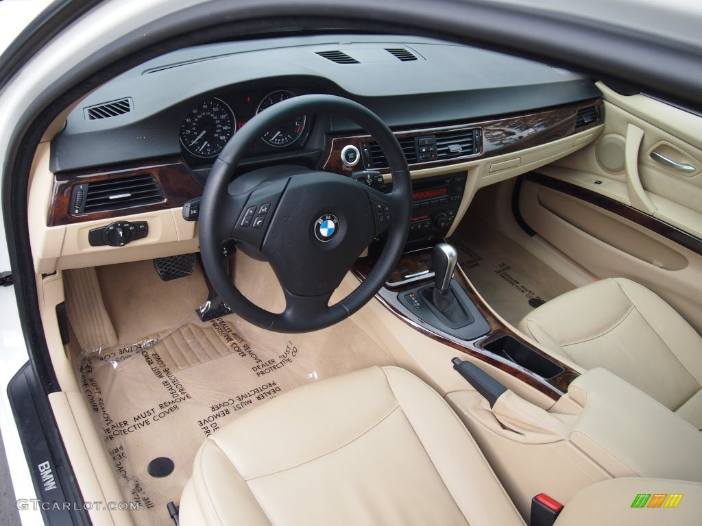 Beige Interior 2006 Bmw 3 Series 325i Sedan Photo