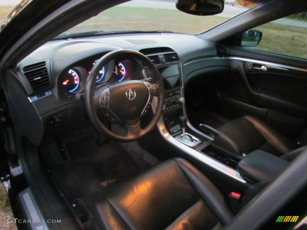 ebony interior 2008 acura tl 3 2 photo 76988076. Black Bedroom Furniture Sets. Home Design Ideas