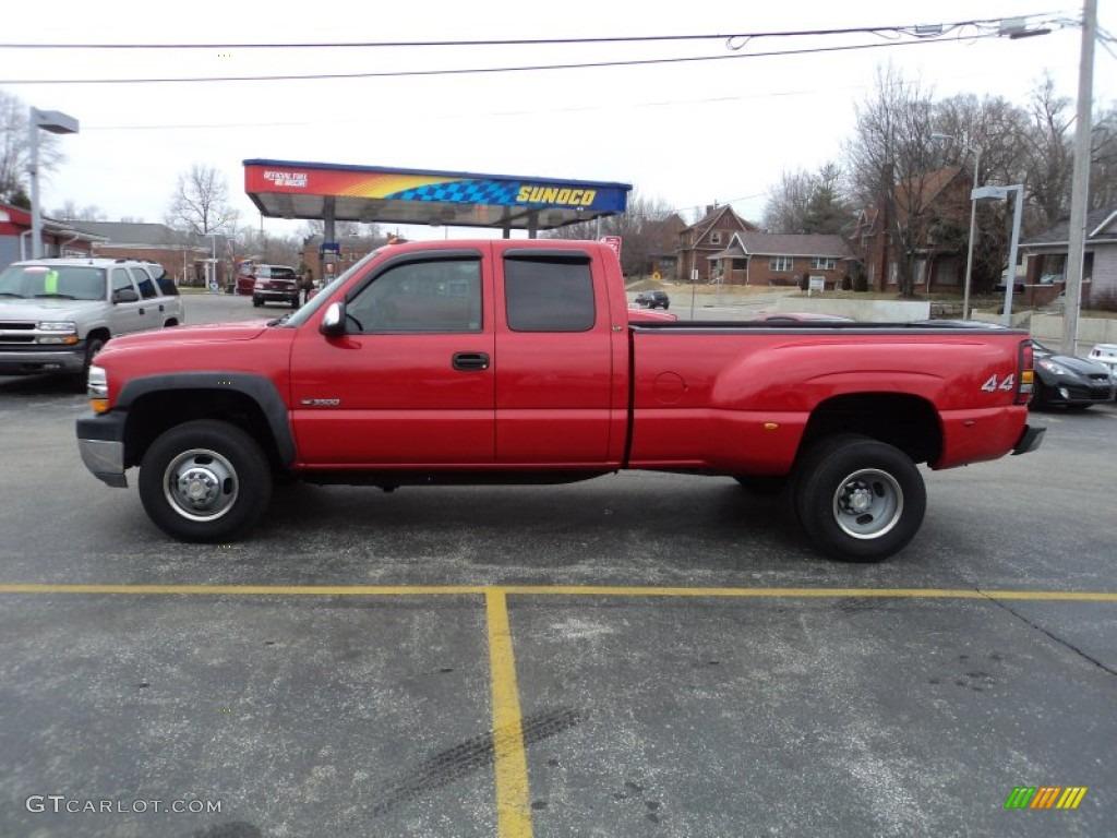 2001 victory red chevrolet silverado 3500 lt extended cab 4x4 dually 76987603 gtcarlot com