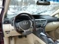 Parchment/Espresso Birds Eye Maple Dashboard Photo for 2013 Lexus RX #76993374